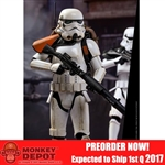 Boxed Figure: Hot Toys Rogue One Stormtrooper Jedha Patrol TK-14057 (902873)