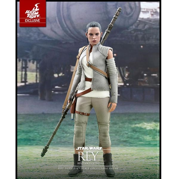 Hot Toys STAR WARS: THE FORCE AWAKENS Rey and BB-8 Action