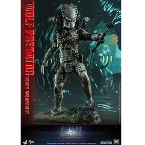 Boxed Figure: Hot Toys Wolf Predator Heavy Weaponry (903149)
