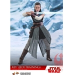 Boxed Figure: Hot Toys Star Wars: The Last Jedi Rey Jedi Training (903205)