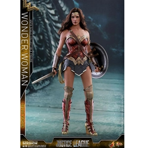 Boxed Figure: Hot Toys Justice League - Deluxe Wonder Woman (903121)