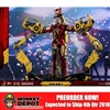 Boxed Figure: Hot Toys Iron Man Mark IV w/Suit-Up Gantry (903100)