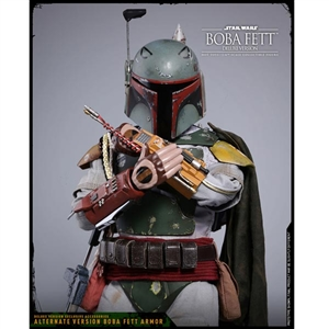 Boxed Figure: Hot Toys The Empire Strikes Boba Fett (Deluxe Version) (903352)