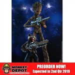 Boxed Figure: Hot Toys Avengers: Infinity War Groot & Rocket (903423)