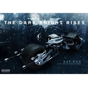 Boxed Vehicle: Hot Toys The Dark Knight Bat-Pod (901878)