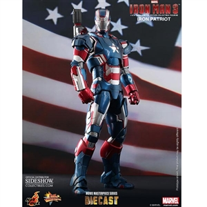 Boxed Figure: Hot Toys Iron Hot Toys Iron Patriot (902014)