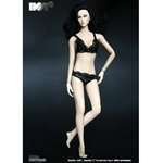Clothing Set: Hot Plus Female Black Lace Lingerie Set (HP-001A)