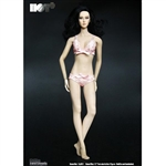Clothing Set: Hot Plus Female Pink Lace Lingerie Set (HP-001B)