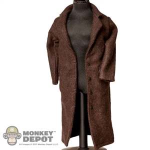 Coat: Heroic Brown Overcoat