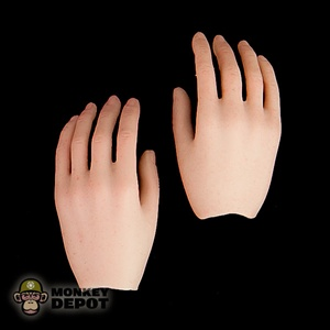 Hands: Hot Toys Female Relaxed