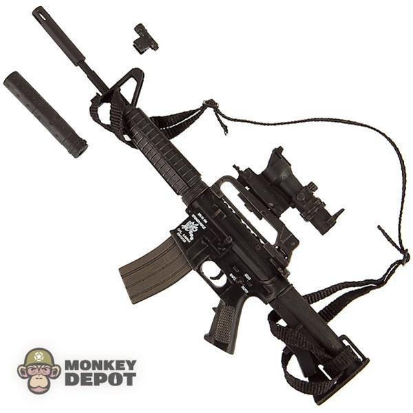 Monkey Depot - Rifle: Hot Toys HK MP7A1 w/ Silencer