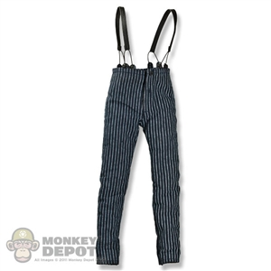 Pants: Hot Toys Striped w/Braces