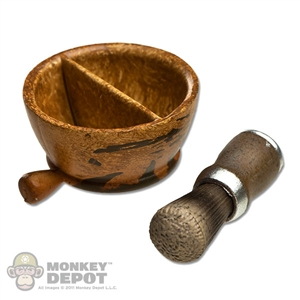 Tool: Hot Toys Shaving Bowl and Brush