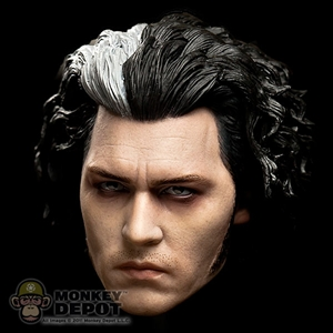 Head: Hot Toys Johnny Depp Sweeney Todd