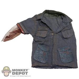 Shirt: Hot Toys Weathered Blue Shirt