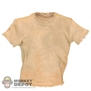 Shirt: Hot Toys Khaki T-Shirt (Worn)