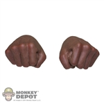 Hands: Hot Toys Fists (African American)