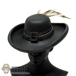 Hat: Hot Toys Pirate Hat w/ Feather