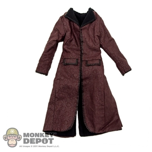 Coat: Hot Toys Reddish Brown Female Coat