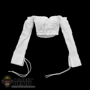 Shirt: Hot Toys Female Long Sleeved White Shirt