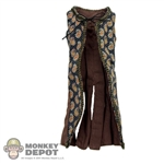 Vest: Hot Toys Female Long Patterned Vest
