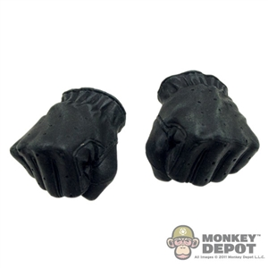Hands: Hot Toys T2 Black Gloves Fists