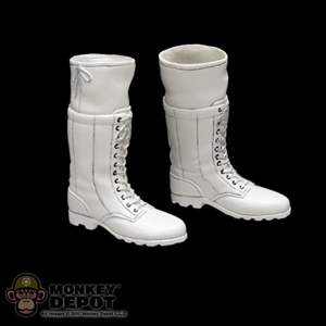 Boots: Hot Toys White Boots (Female)