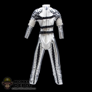 Suit: Hot Toys Female Silver/White Jumpsuit