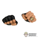Hands: Hot Toys Closed Fist Gloved w/Ring