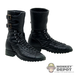 Boots: Hot Toys Modern Black w/Buckle Top