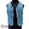 Vest: Hot Toys Blue Denim