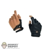 Hands: Hot Toys Gripping Trigger Gloved