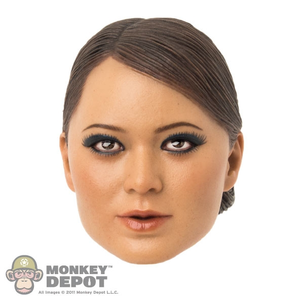 Monkey Depot - Head: TTL Toys Female Head with Long Curly