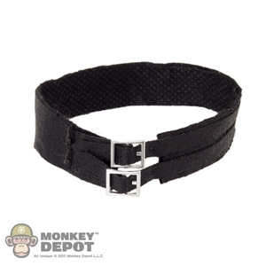 Belt: Hot Toys Black Double Buckle Belt