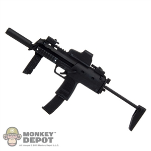 Rifle: Hot Toys HK MP7A1 w/ Silencer