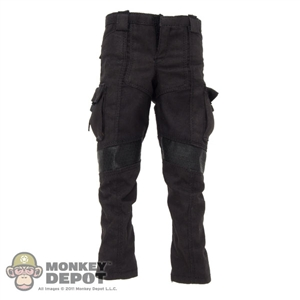 Pants: Hot Toys Tactical Cargo Black
