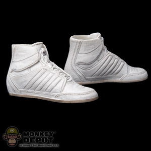 Shoes: Hot Toys Storm Shadow White High Tops