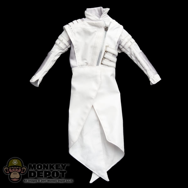 Suit Hot Toys Storm Shadow White Ninja Jacket & Monkey Depot - Suit: Hot Toys Storm Shadow White Ninja Jacket