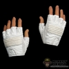Hands: Hot Toys Storm Shadow Gloved Relaxed White (No Wrist Pegs)