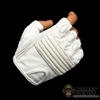 Hands: Hot Toys Storm Shadow Gloved Pistol Gripped White (No Wrist Pegs)