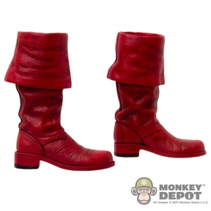 Boots: Hot Toys Captain America Red Boots