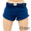 Shorts: Hot Toys Blue Spandex Shorts w/Belt