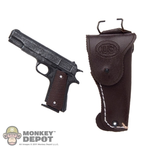 Pistol: Hot Toys Colt M1911A1 w/Holster