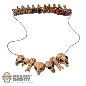 Tool: Hot Toys Scar Predator Spine Necklace w/Skulls