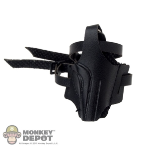 Holster: Hot Toys Black Thigh Pistol Holster