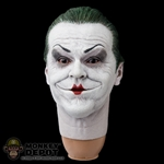 Head: Hot Toys Joker Mime w/PERS (Posable eyes!)