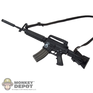 Rifle: Hot Toys AR-15 Carbine
