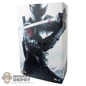 Display Box: Hot Toys GI Joe - Snake Eyes (EMPTY)