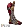 Tool: Hot Toys Iron Man 3 Leg Armor & Left Boot