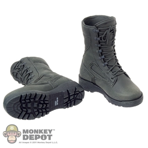 Boots: Hot Toys Green Army Boots